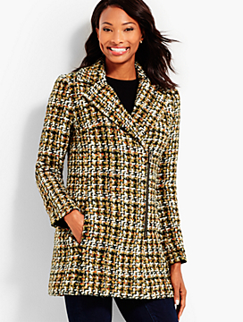 Autumn Tweed Coat