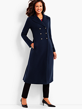 Cashmere Officer's Coat