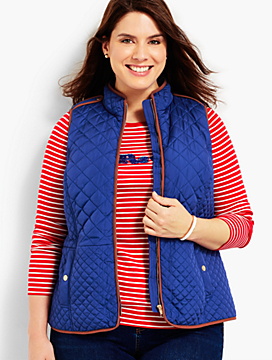 Quilted Barn Vest