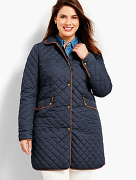 Quilted Barn Coat