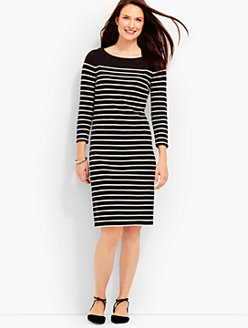 Breton Stripe Shift Dress