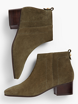 Dakota Suede Booties