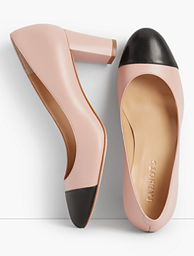 Ellery Cap-Toe Pump