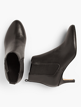 Isabel Pull-On Ankle Booties