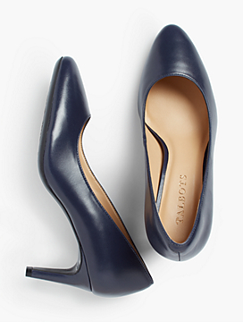 Tessa Pump - Leather
