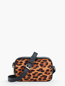 Haircalf Camera Crossbody Bag