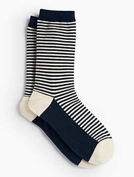 Stripe Trouser Sock