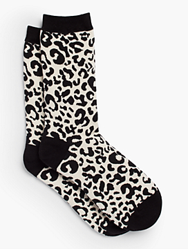 Animal Jacquard Sock