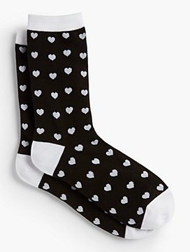 Heart Trouser Sock