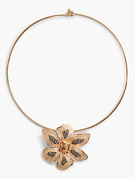 Pavé Flower Collar