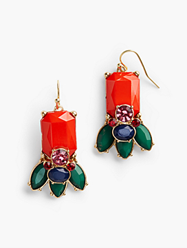 Bead-Drop Earrings