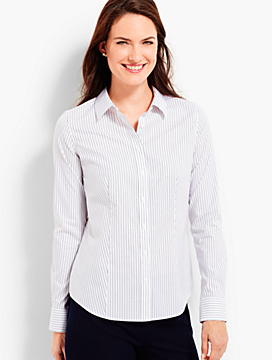 The Perfect Long-Sleeve Shirt - Revere Dots