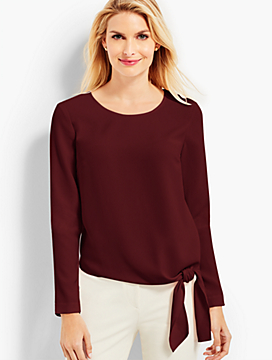 Side-Tie Blouse
