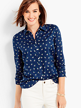The Classic Casual Shirt - Duck Print