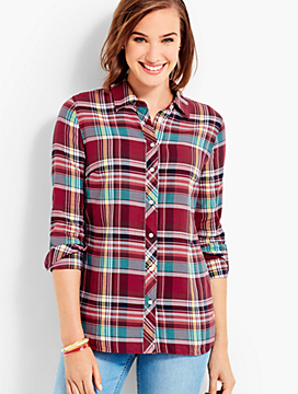 The Classic Casual Shirt - Candy Plaid