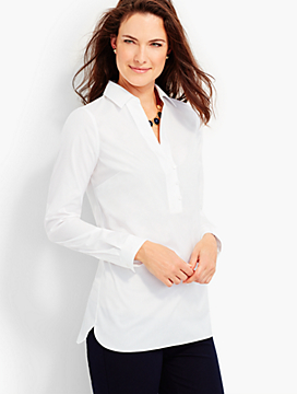 The Perfect Wrinkle-Resistant Popover Shirt
