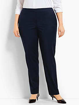 Woman Exclusive Seasonless Wool Straight Leg Trouser