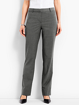 Seasonless Wool Subtle Bootcut Trouser