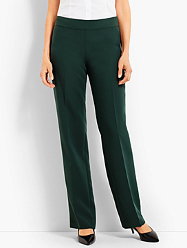 Seasonless Crepe Wide-Leg Pant