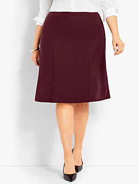 Seasonless Crepe Skirt