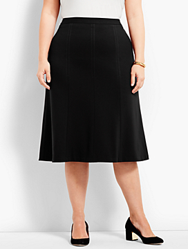 Luxe Knit Swing Skirt