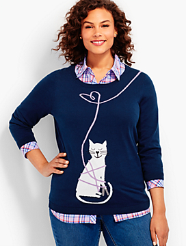 Kitten Love Sweater