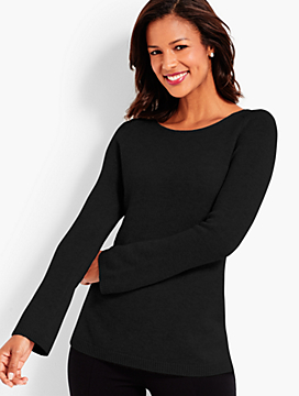 Textured Cashmere Tunic
