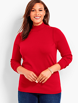 Mock-Turtleneck Sweater
