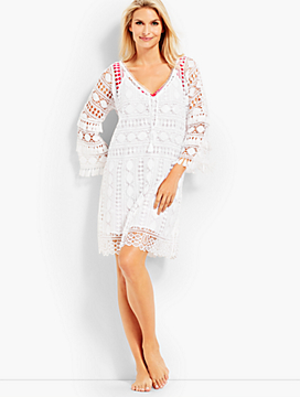 Allover Lace Cover-Up