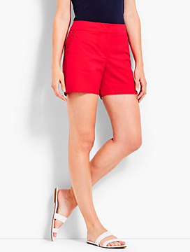 Ruffle-Pocket Short
