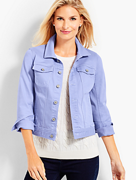The Classic Denim Jacket - Winter Lilac