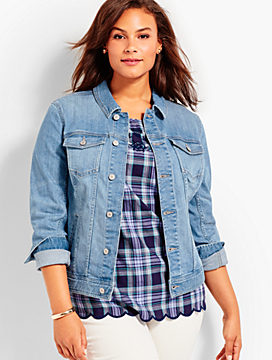 The Classic Denim Jacket - Cool Vista Wash