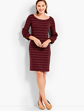 Twinkling Stripe Shift Dress