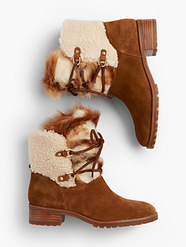 Tish Suede Hiking Boots