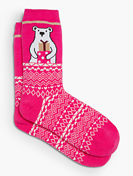 Polar Bear Trouser Sock