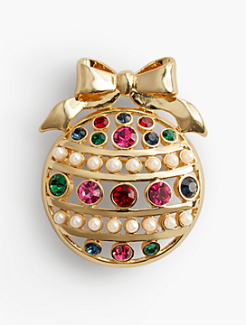 Festive Ornament Brooch