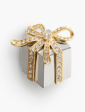 Gift Box Brooch