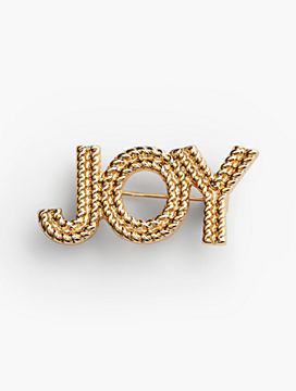 """Joy"" Brooch"