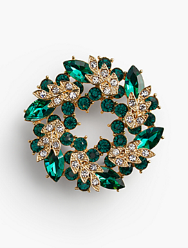 Wreath Brooch