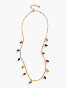 Holiday Lights Layering Necklace