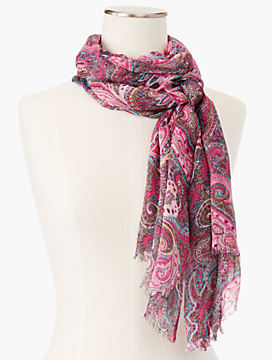 Vineyard Paisley Scarf