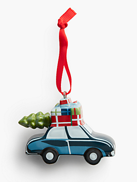 Car Holiday Ornament
