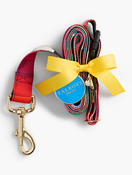 Rainbow Leash & Collar Set