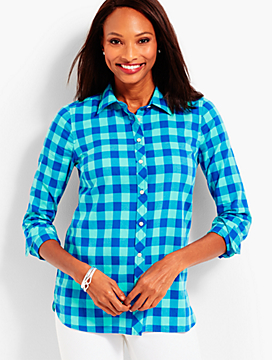 The Classic Cotton Shirt - Buffalo Check