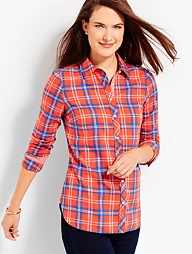 The Classic Cotton Shirt - Woodland Plaid
