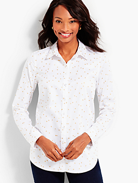 The Classic Cotton Shirt - Sparkling Stars