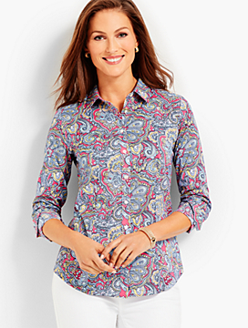 The Perfect Shirt - Resort Paisley