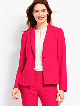 Italian Double-Cloth Blazer