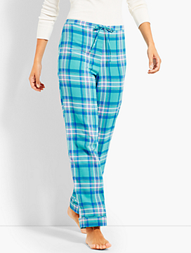 Plaid Flannel Sleep Pant
