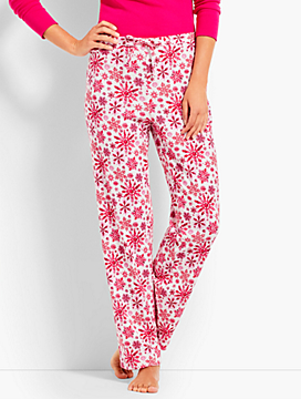 Watercolor Snowflake Sleep Pant
